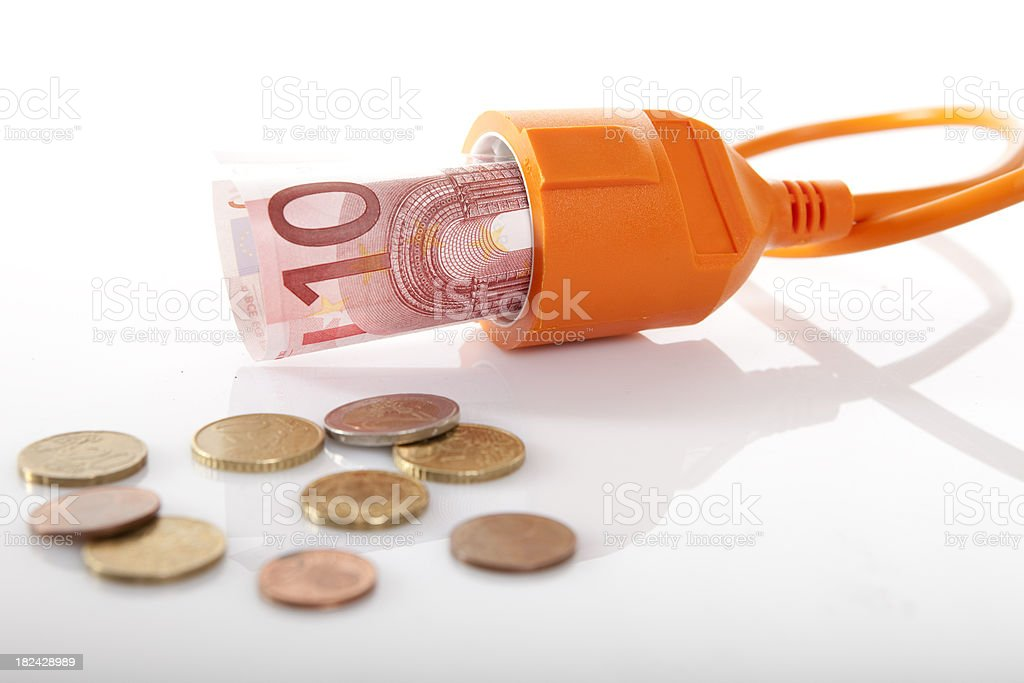 Saving energy    the environment and  money stock photo