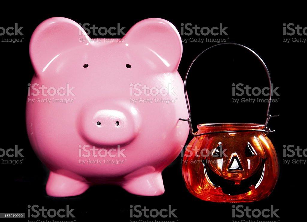 Saving for halloween royalty-free stock photo