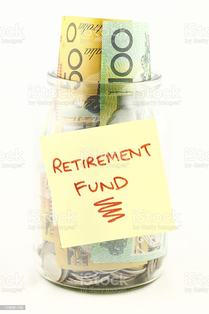 Saving for Retirement stock photo