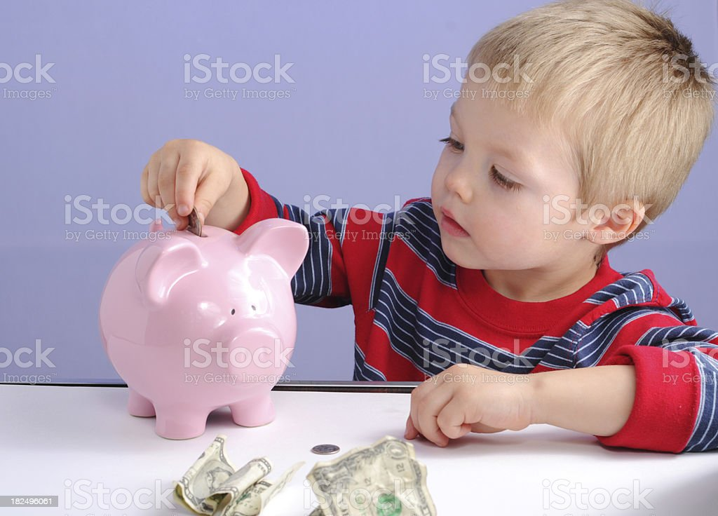 Saving for the future. royalty-free stock photo