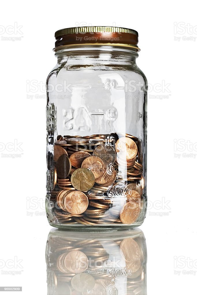 Saving for the future royalty-free stock photo