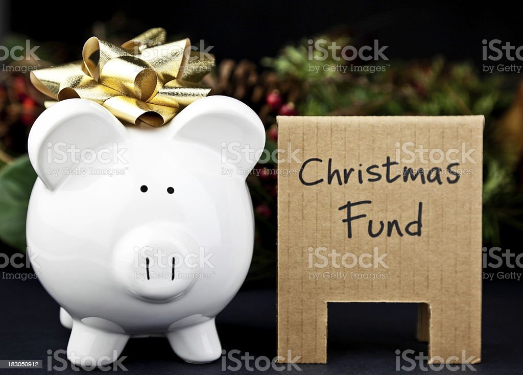 Saving for the Holidays royalty-free stock photo