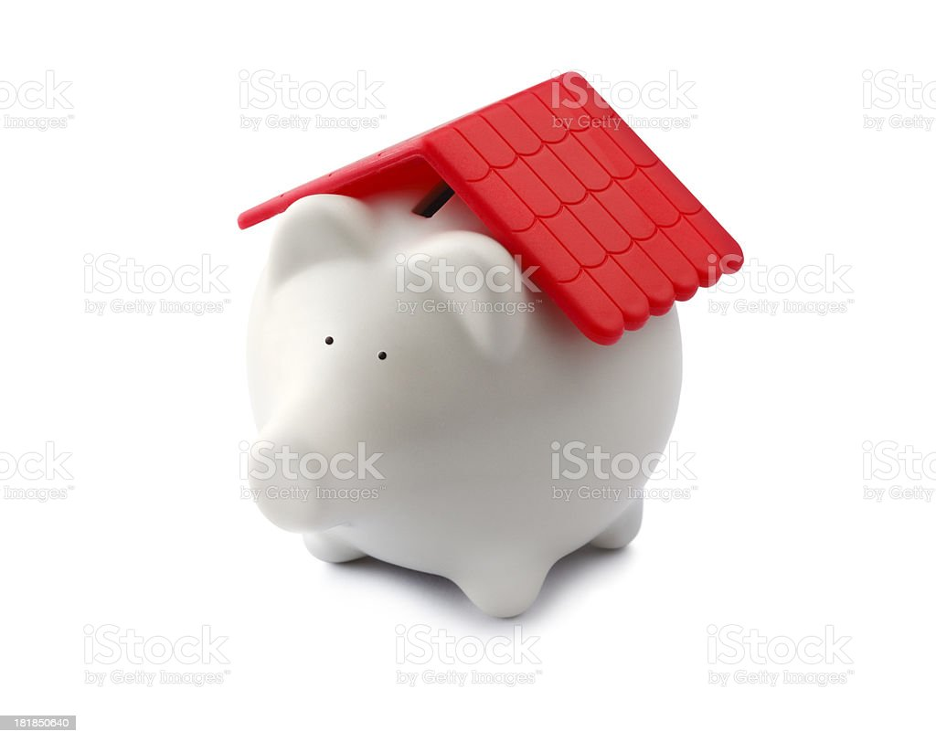 Saving for Your Home royalty-free stock photo
