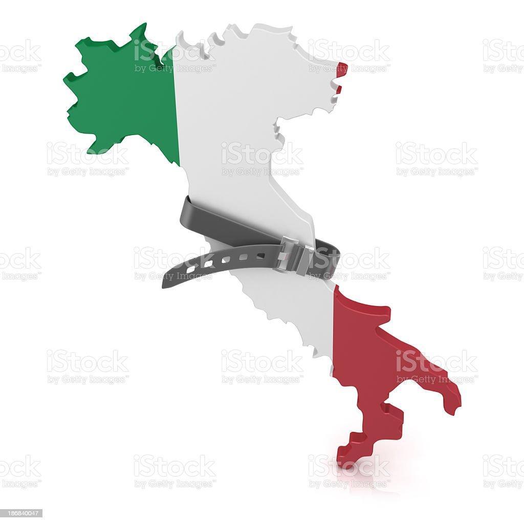 Saving  - Italy royalty-free stock photo