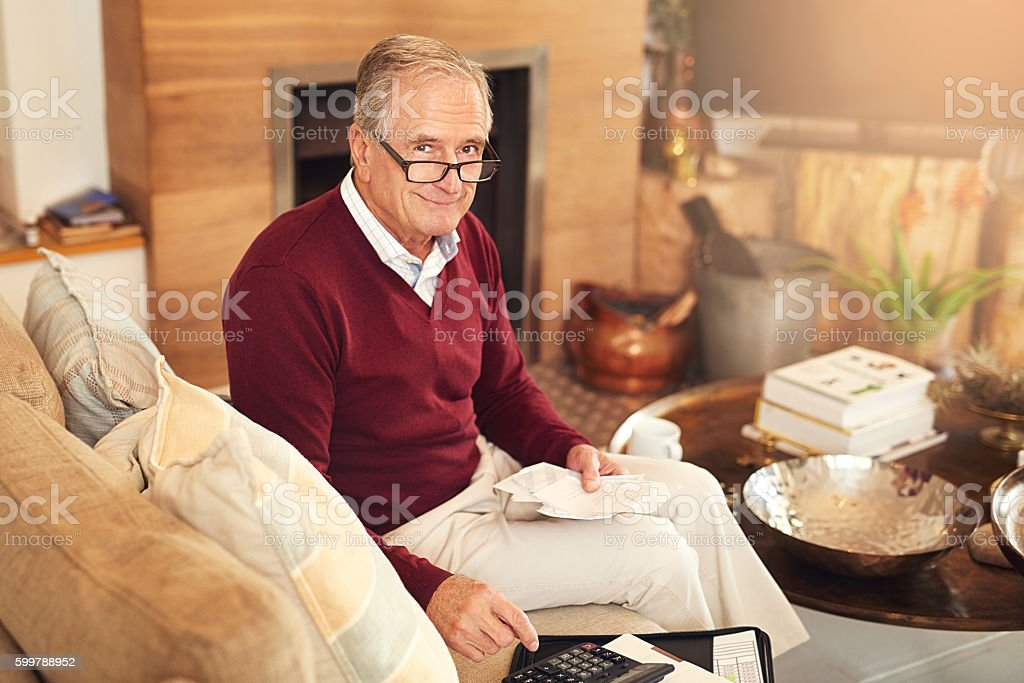 Saving money and stretching dollars is important stock photo