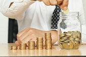 Saving Money - Business Concept