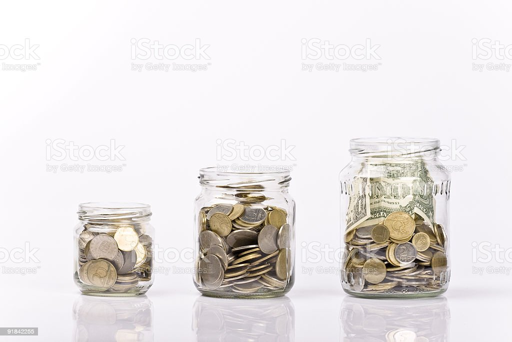 Saving money concept royalty-free stock photo