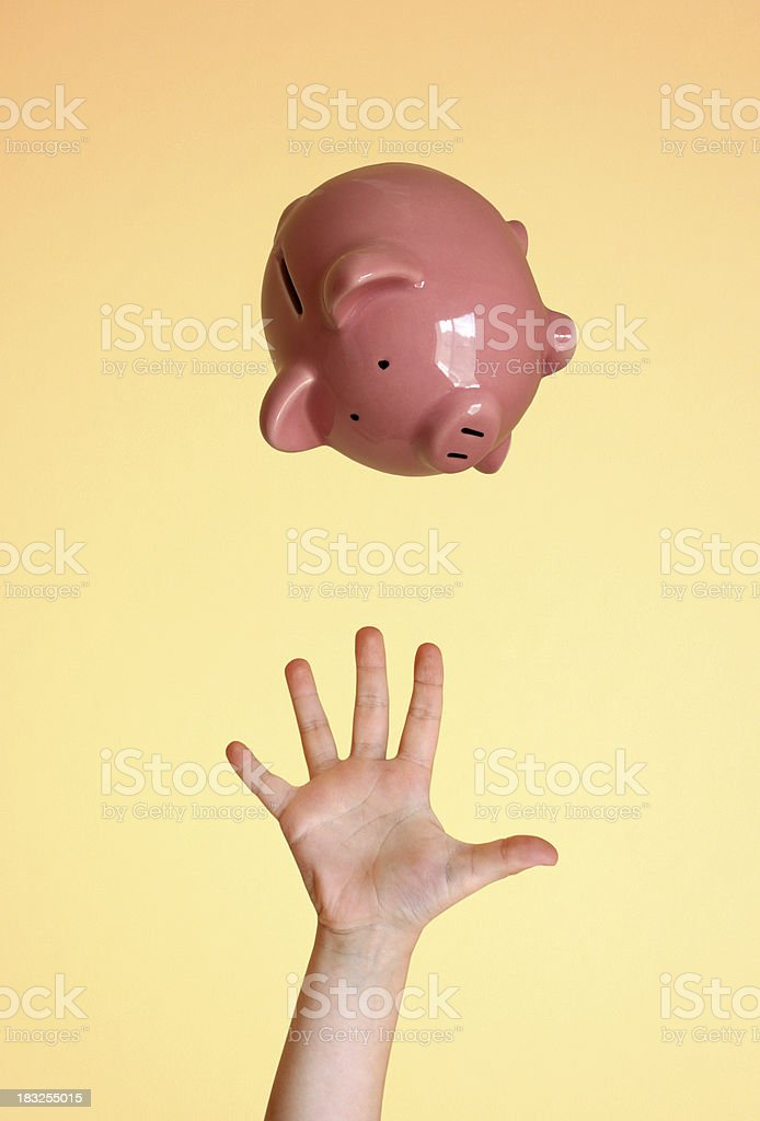 Saving Money for the Future royalty-free stock photo
