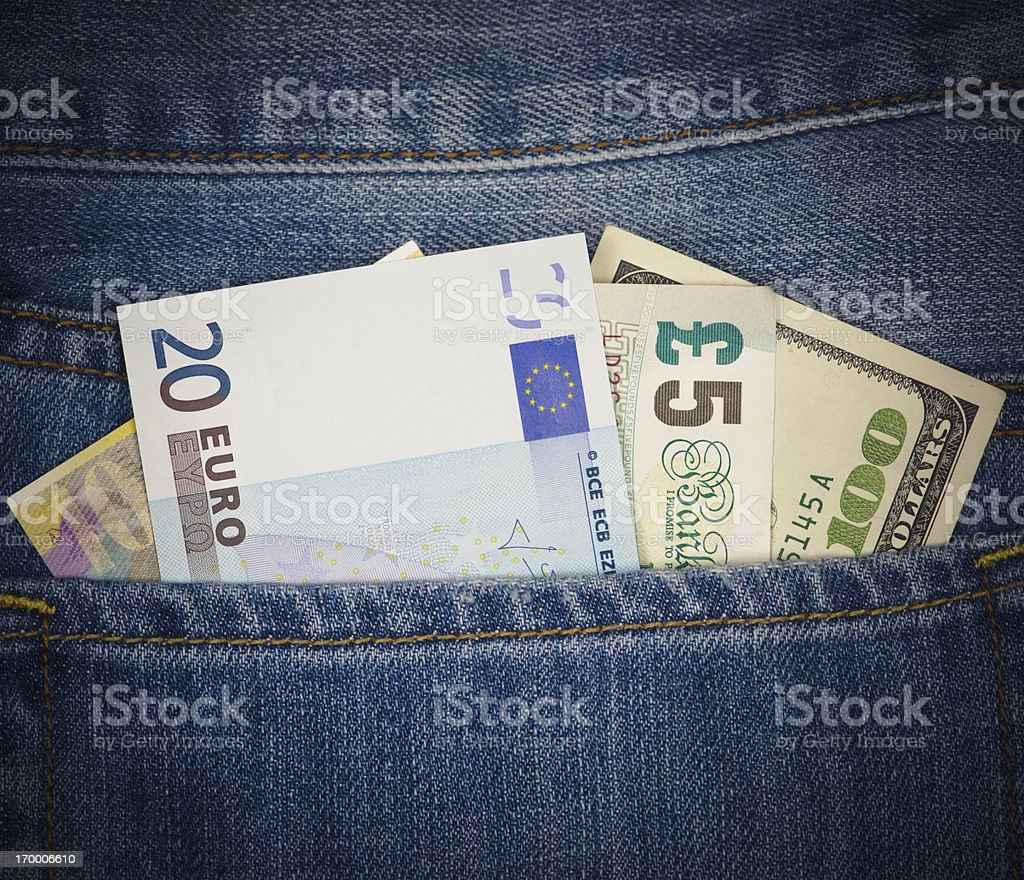 Saving Money royalty-free stock photo