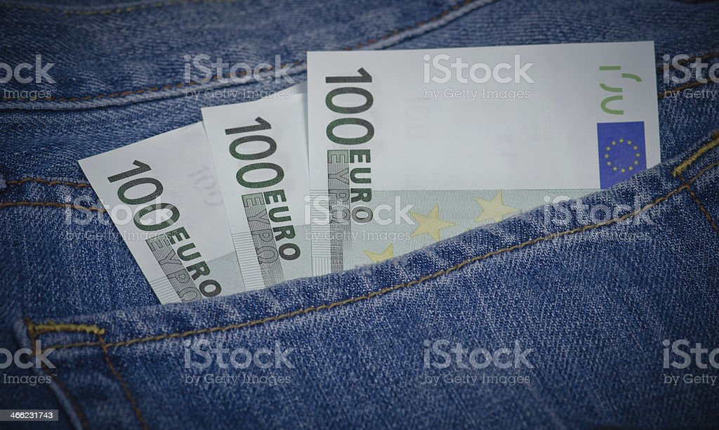 Saving Money royalty-free stock photo