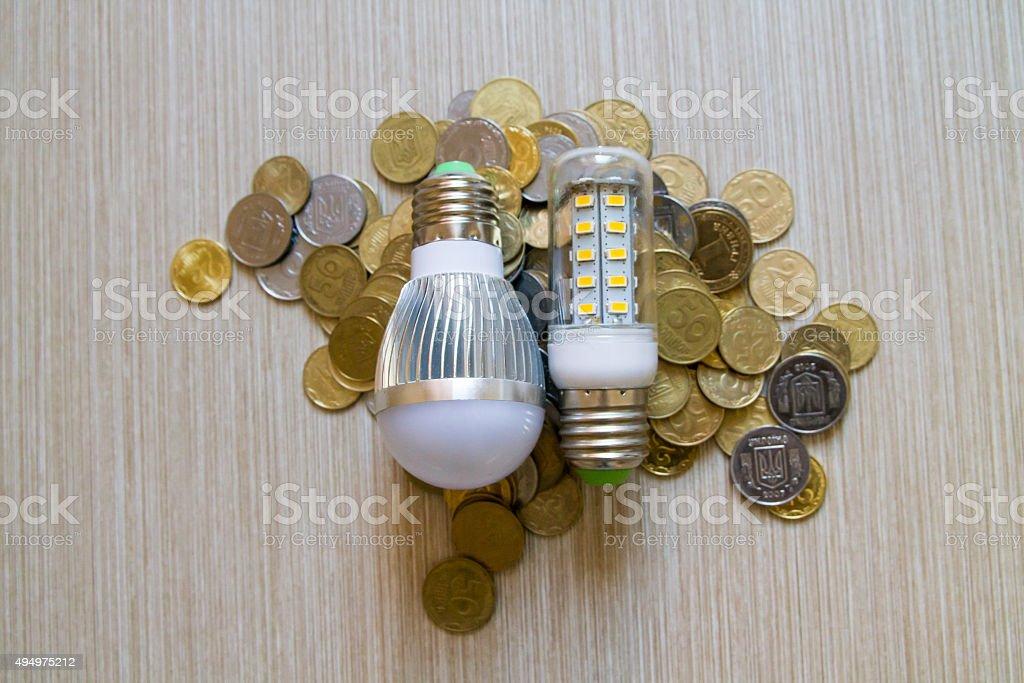 Saving our Energy. stock photo