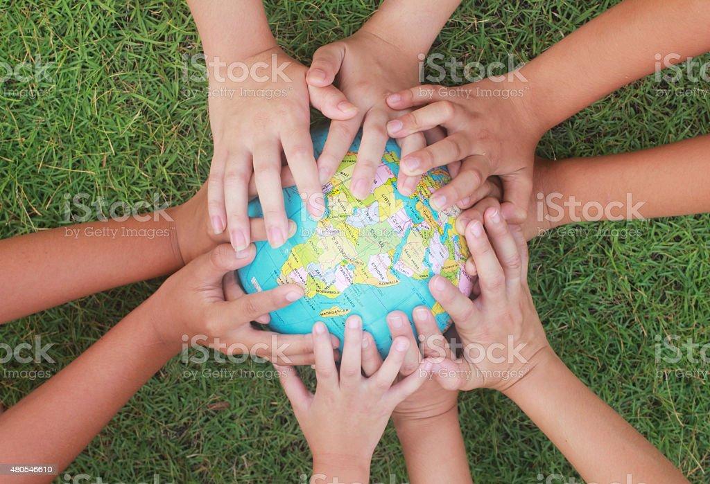 Die Rettung der Welt Lizenzfreies stock-foto