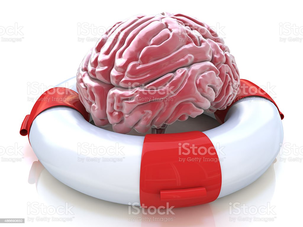 Saving your brain and preserving memory, neurological function stock photo