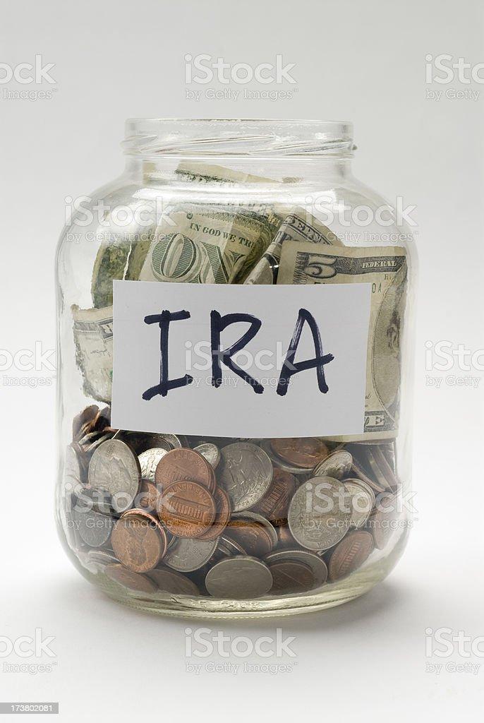 IRA Savings Account royalty-free stock photo