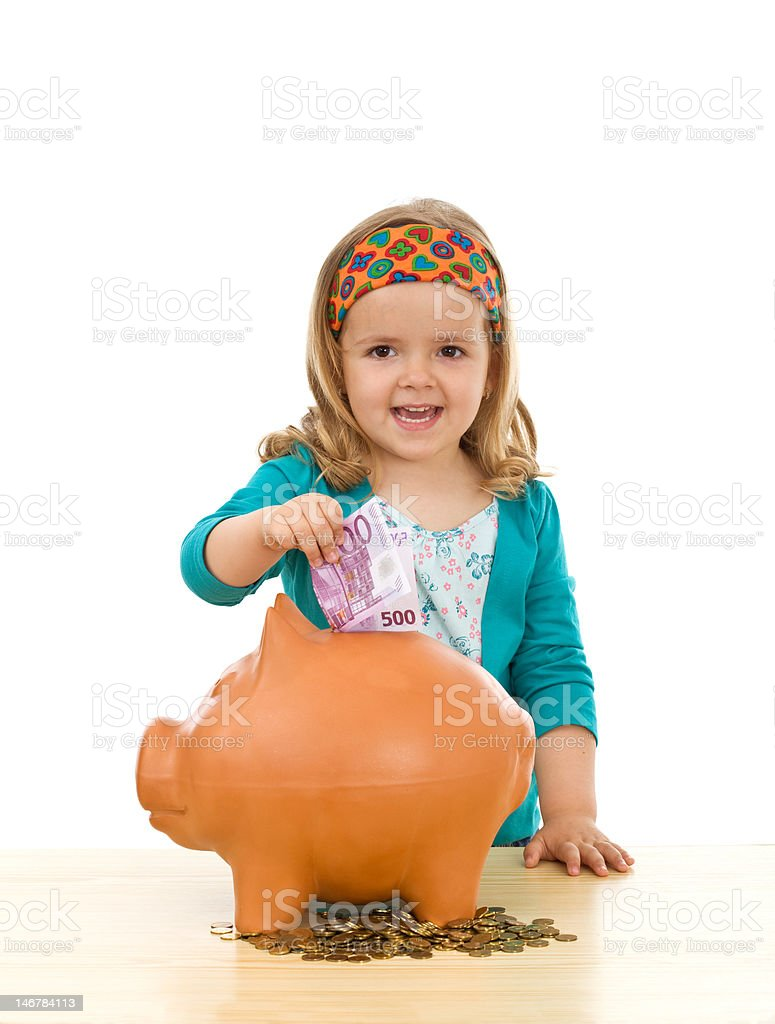 Savings and financial education concept royalty-free stock photo