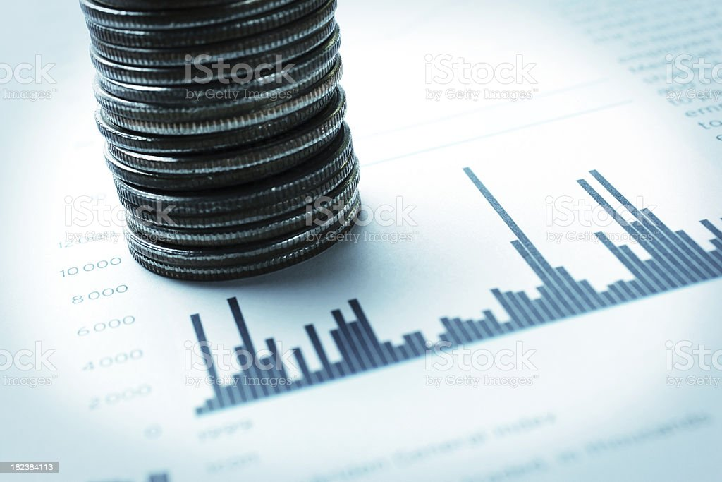 Savings and Investments royalty-free stock photo