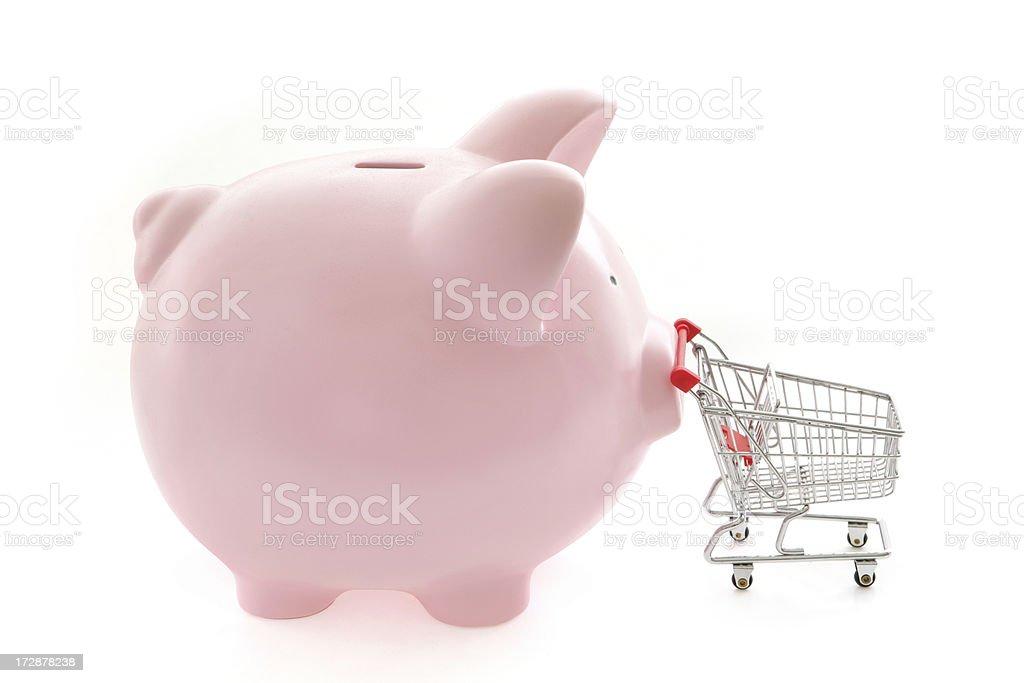Savings at the Checkout royalty-free stock photo