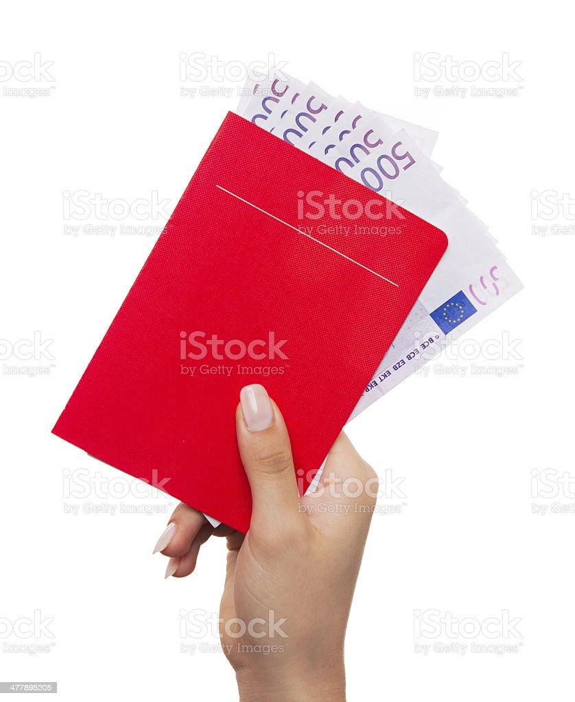 savings book stock photo