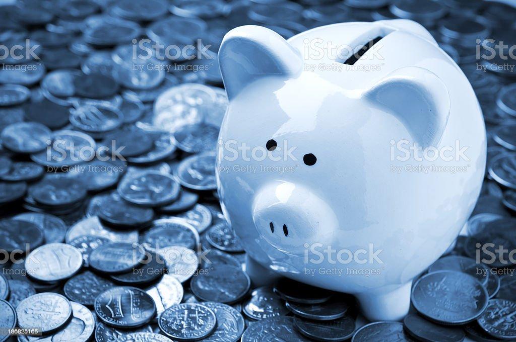 Savings Concept royalty-free stock photo