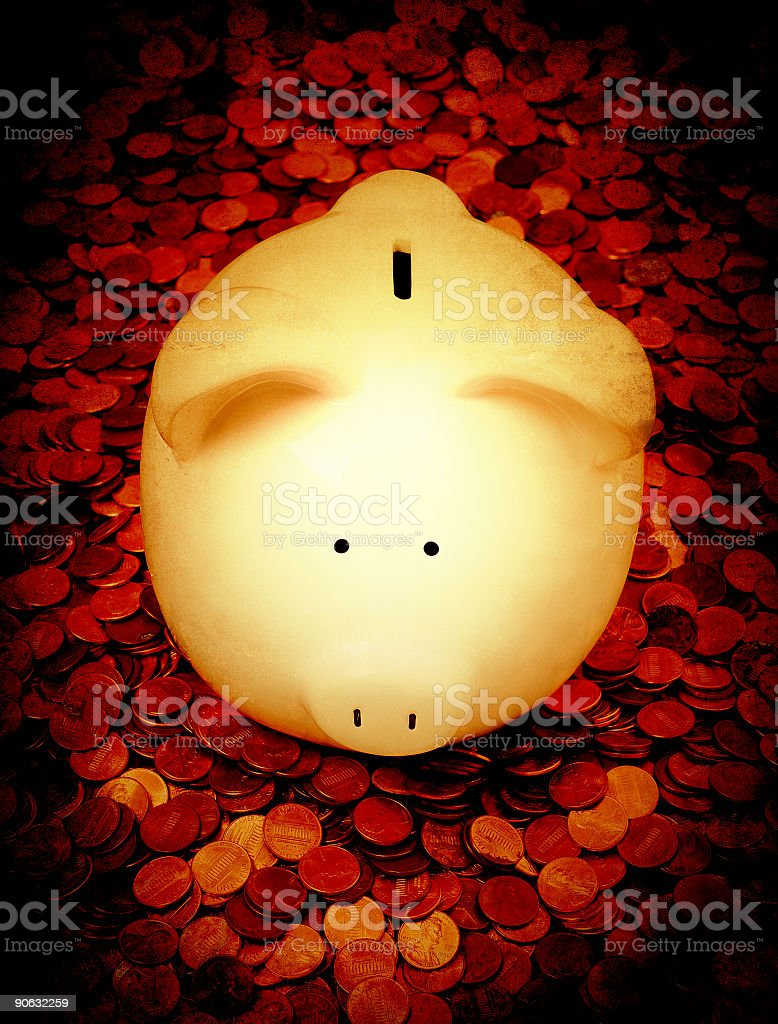 savings drama royalty-free stock photo