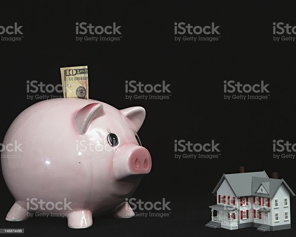 Savings for new Home - I royalty-free stock photo