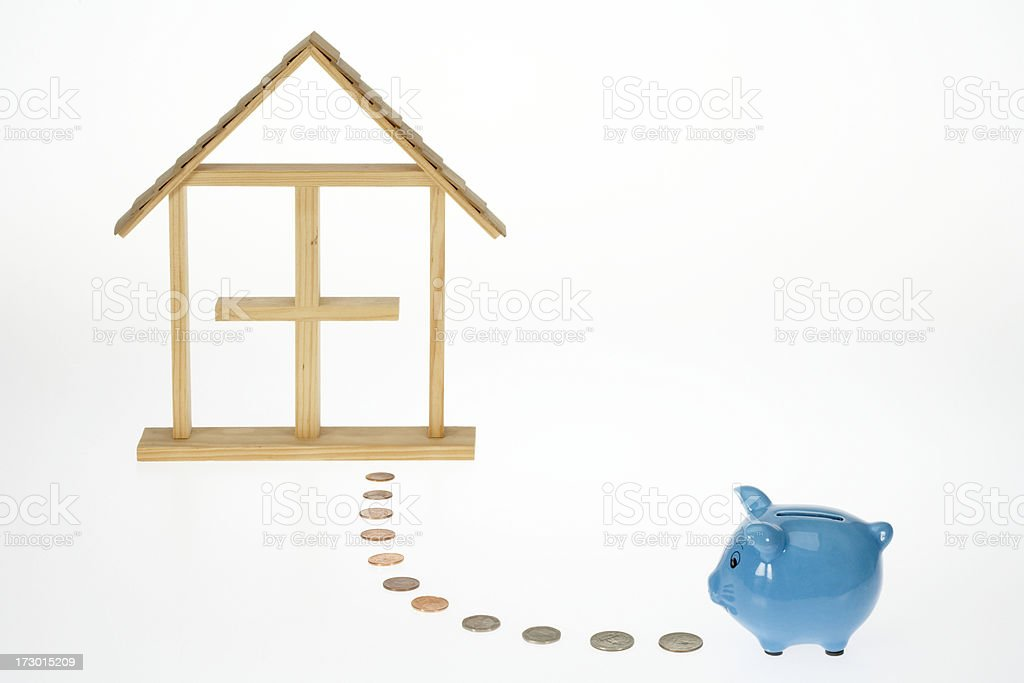 Savings for the house royalty-free stock photo