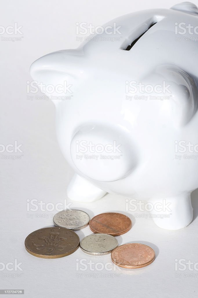 savings money box royalty-free stock photo