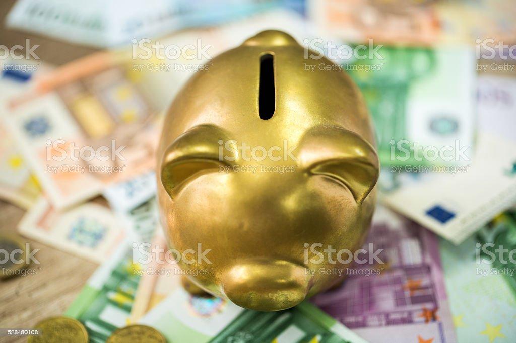 Savings money stock photo