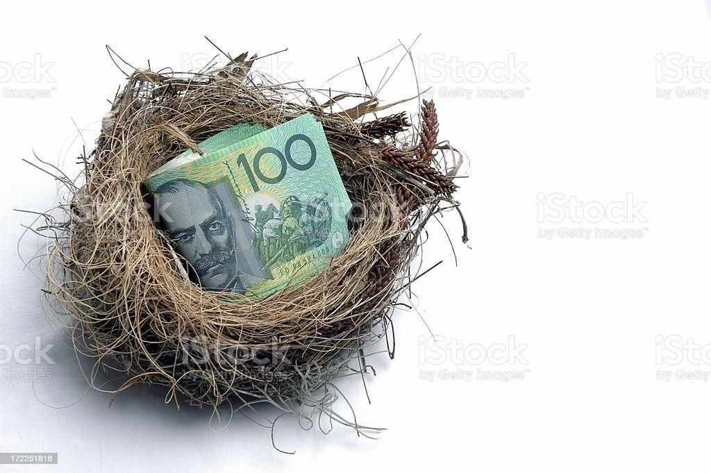 Savings Nest Egg royalty-free stock photo