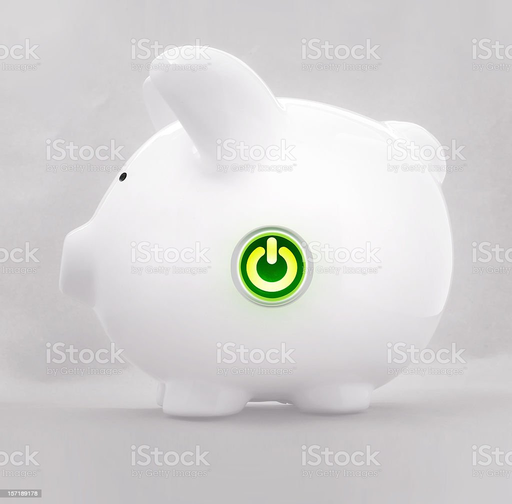 savings ON royalty-free stock photo