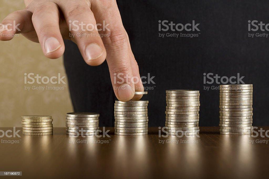 Savings royalty-free stock photo