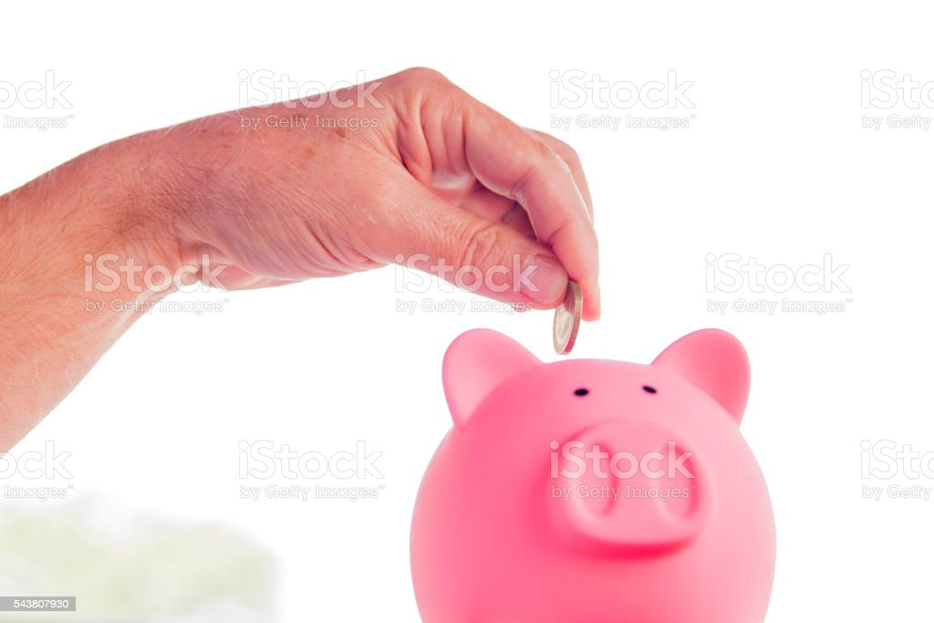 Savings, Piggy Bank, Finance, Investment, Tax stock photo