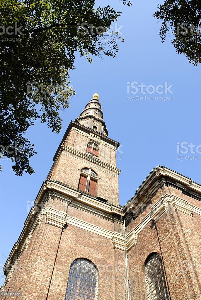 Saviour's Church royalty-free stock photo