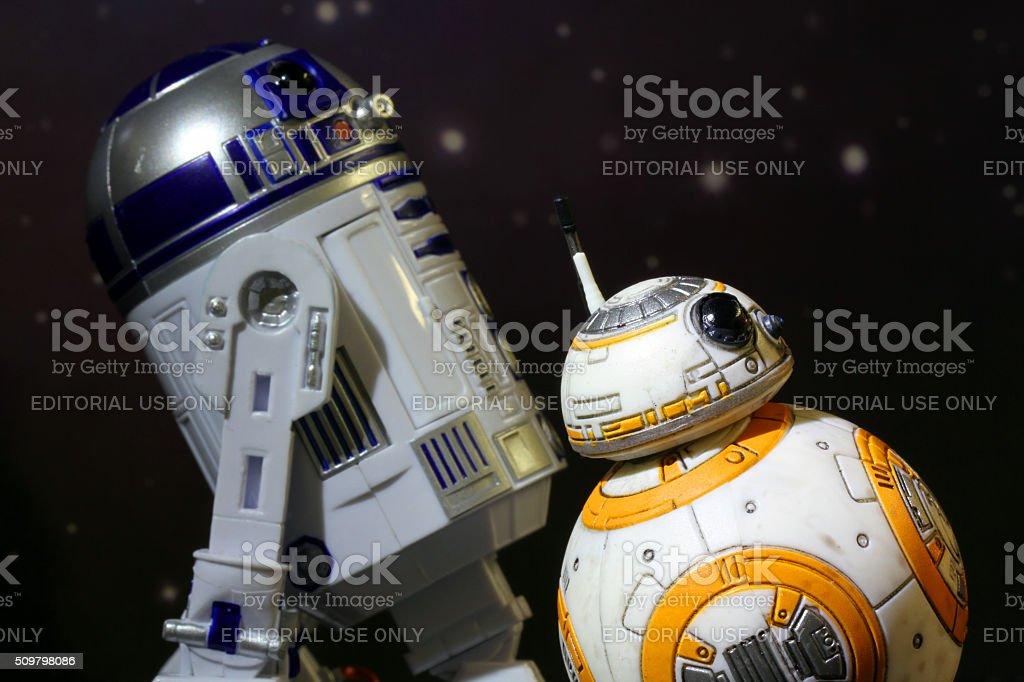 Saviours of the Galaxy stock photo