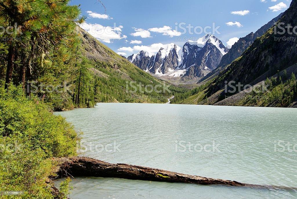savlo ou szavlo valley de gamme dans l'Altaï photo libre de droits