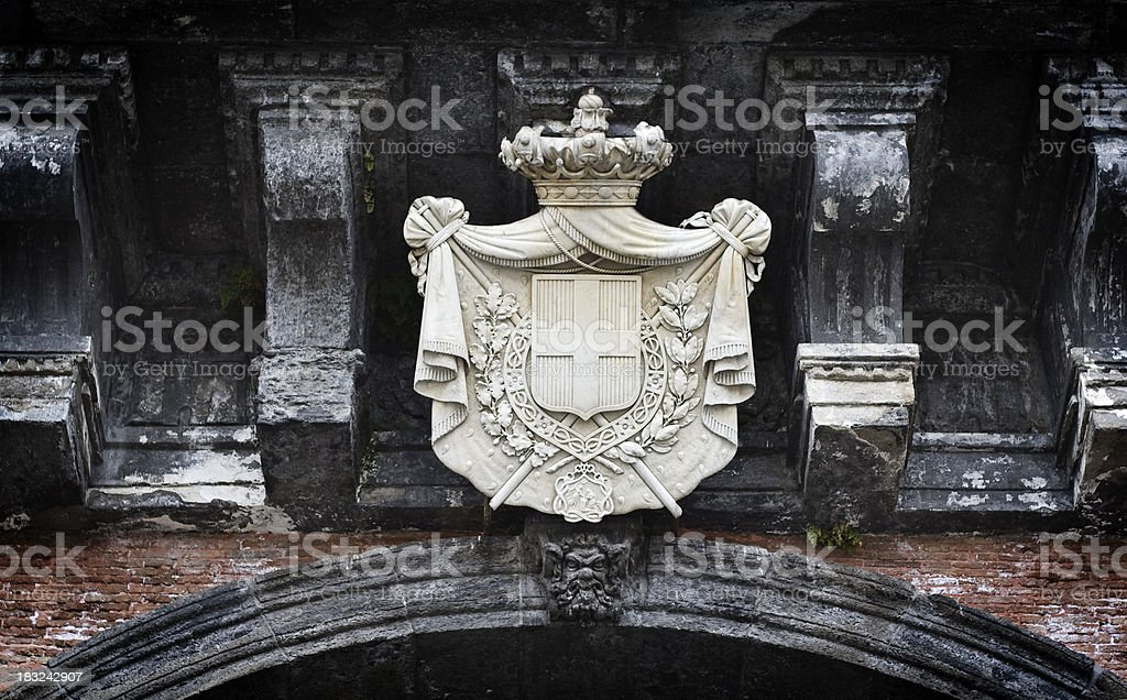 Savoia Coat of Arms royalty-free stock photo
