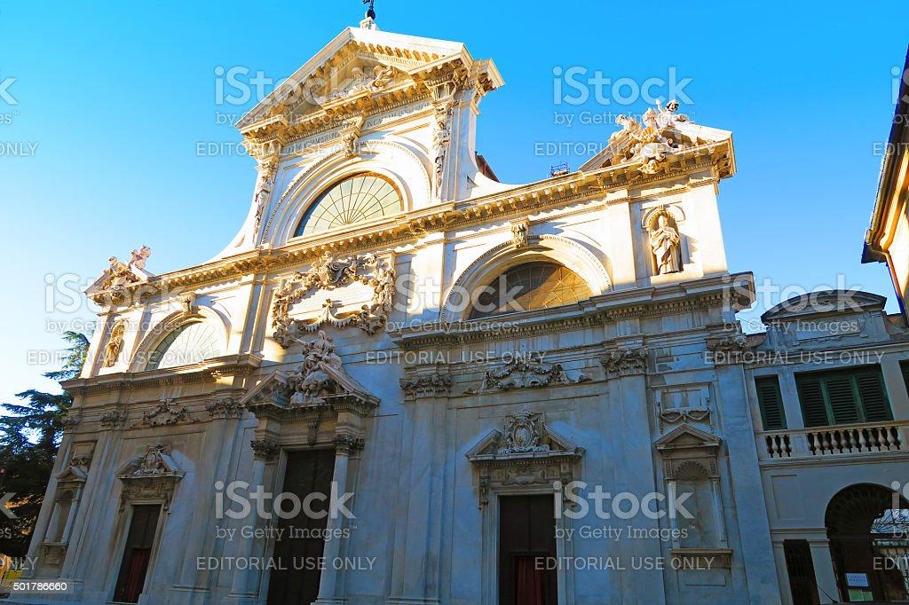 Savona Cathedral, Liguria, Italy stock photo