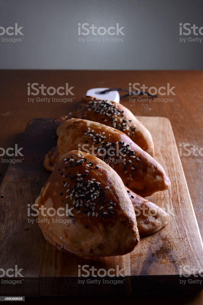 Savory Pastry stock photo