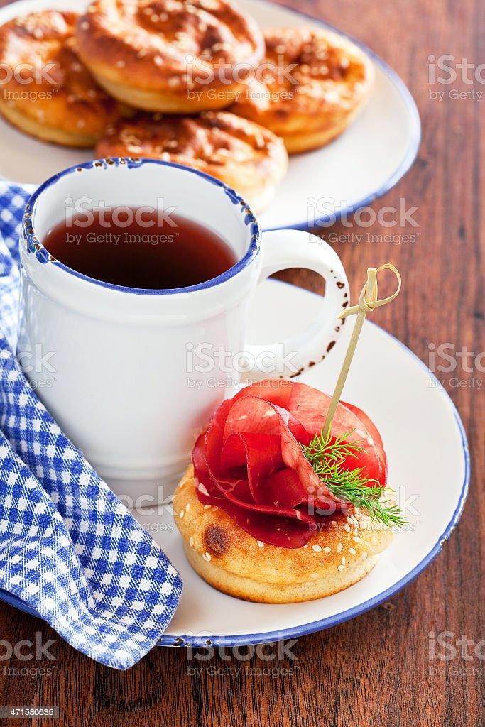 Savoury muffins royalty-free stock photo