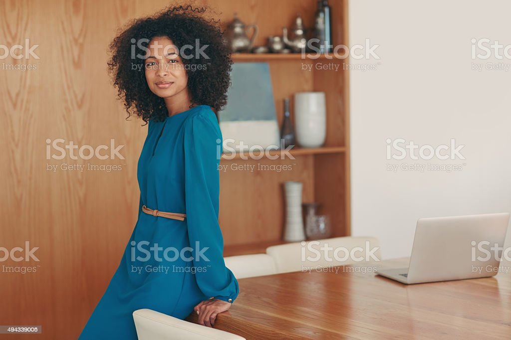 I saw ambition and went for it stock photo