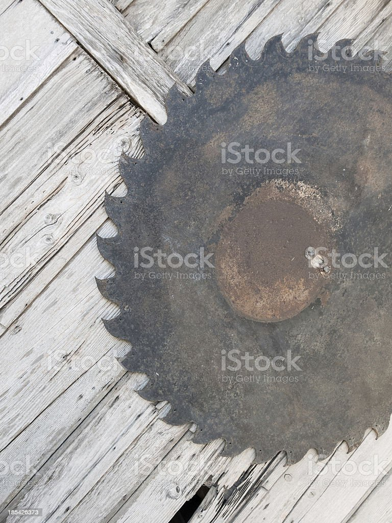 Saw Blade royalty-free stock photo