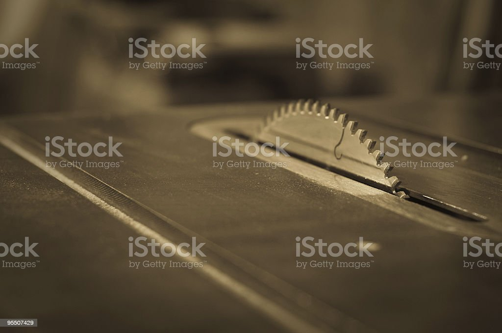 Saw Blade stock photo