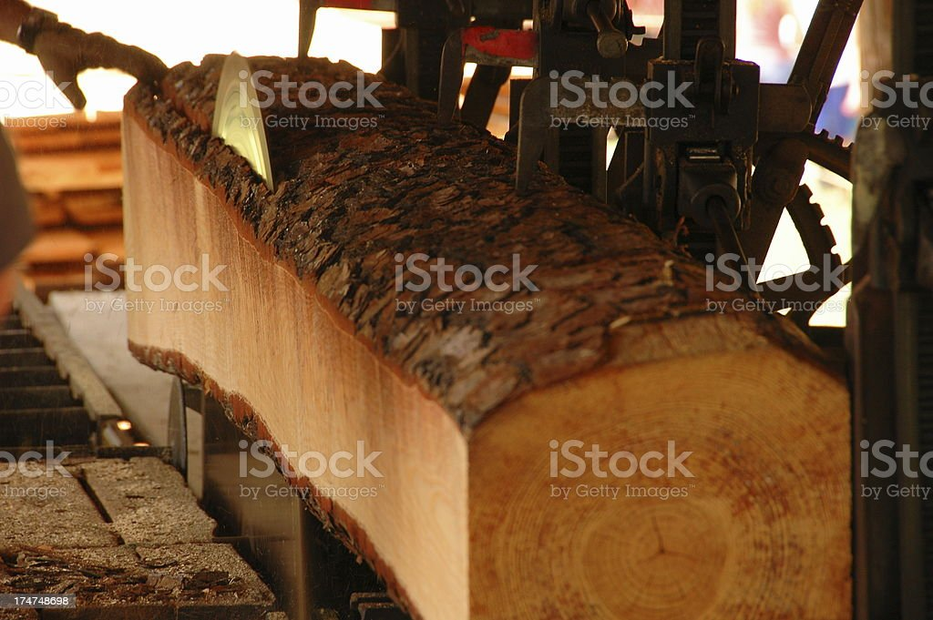 Saw Mill stock photo