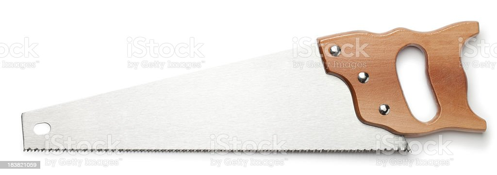 Saw stock photo