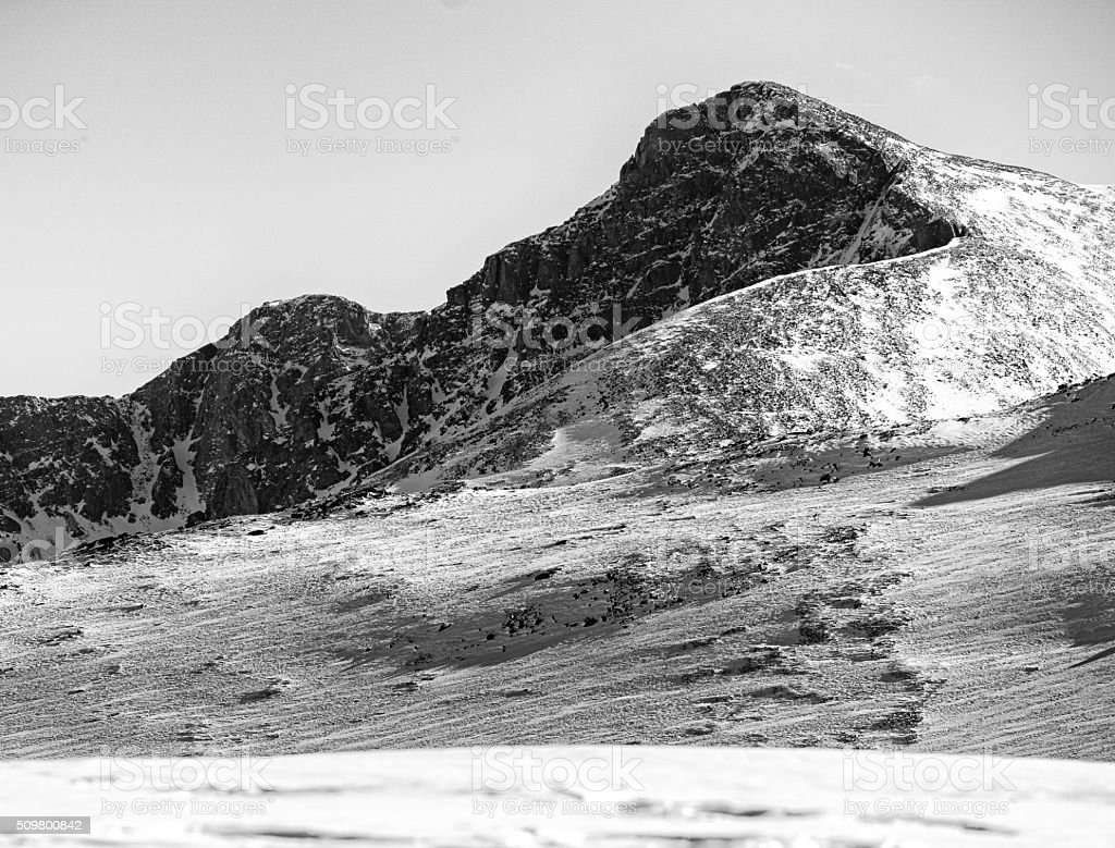 Sawatch Mountains Holy Cross Wilderness stock photo