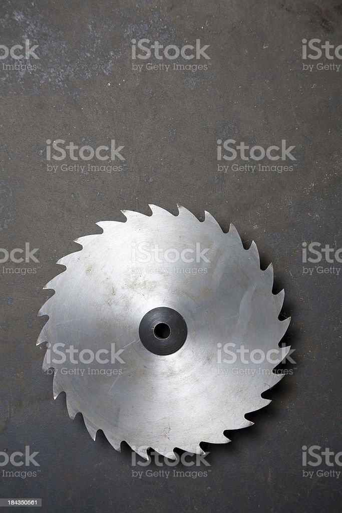 Sawblade stock photo