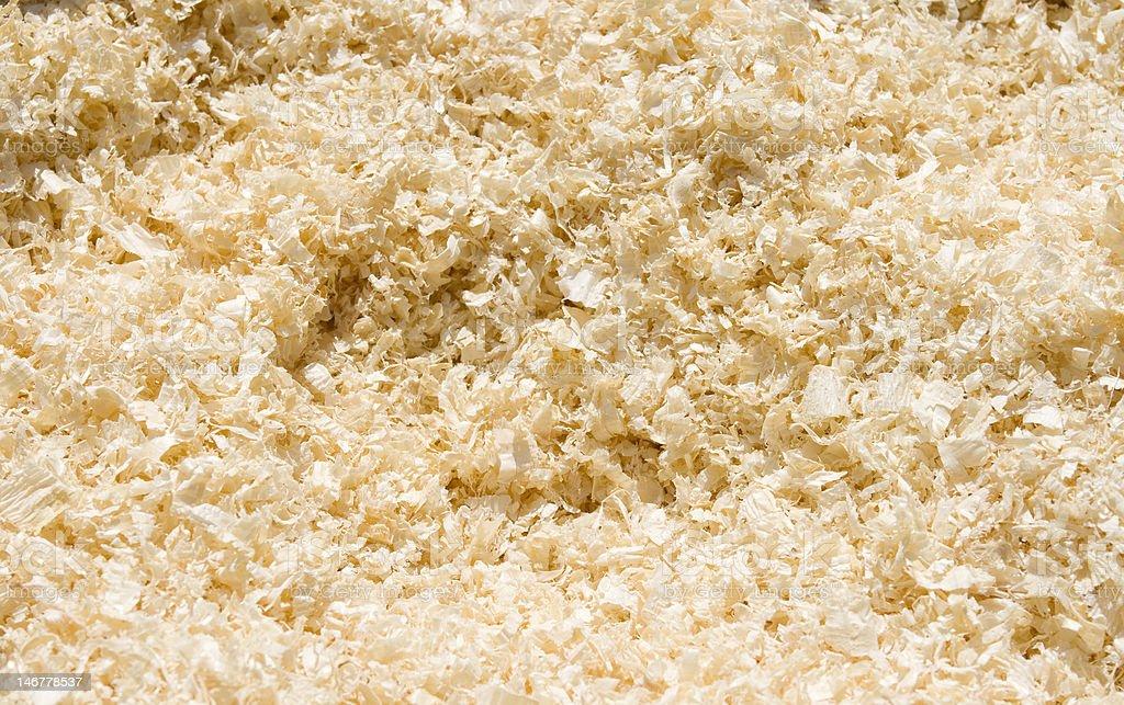 Sawdust background royalty-free stock photo