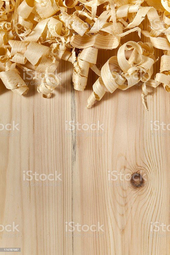 Sawdust royalty-free stock photo