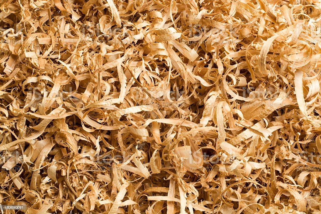 Sawdust royalty-free stock photo