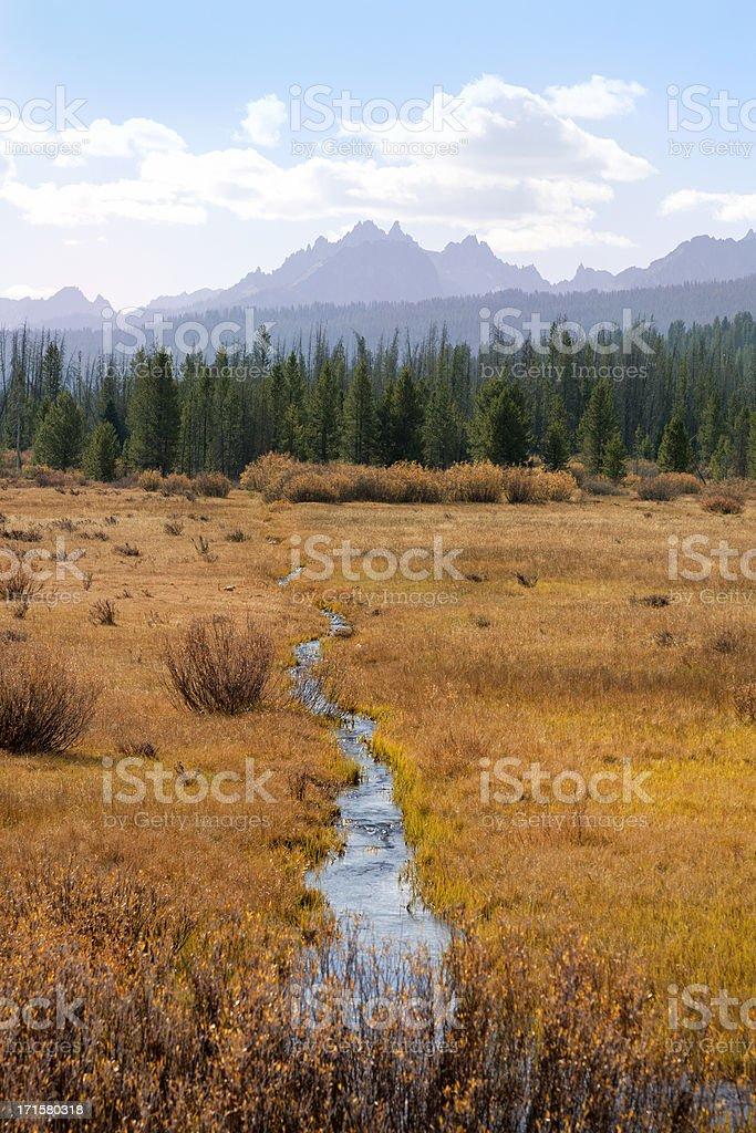 Sawtooth National Recreation Area stock photo